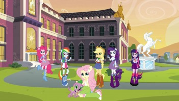 PUZZLE My Little Pony: Equestria Girls