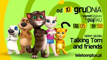 Talking Tom and Friends 3 - nowy sezon od 10.12.