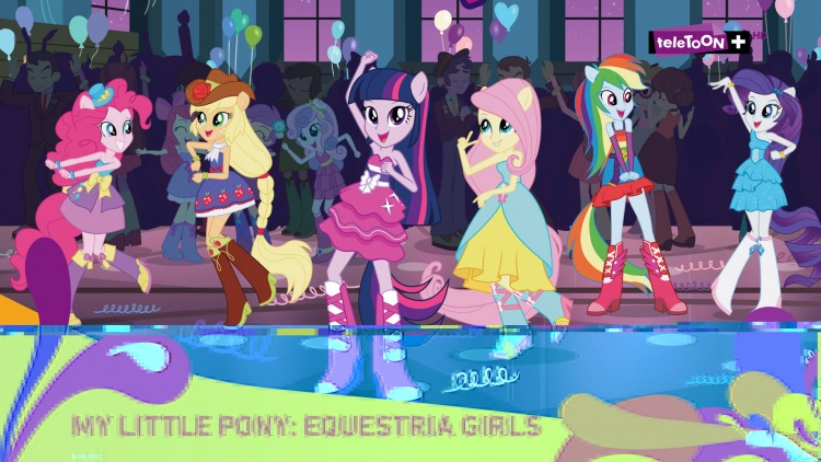 Tapeta desktop MLP Equestria Girls