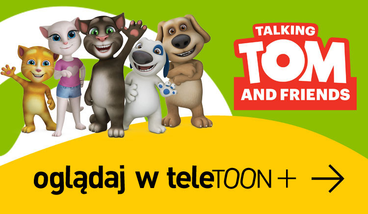 Oglądaj Talking Tom w teleTOON+